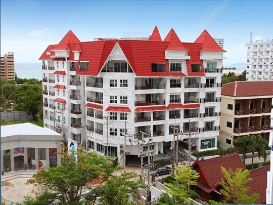 the club house residence     for sale in Pratumnak Pattaya