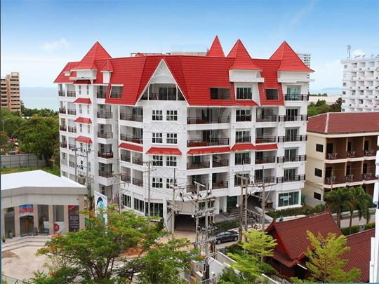 the club house residence  Condominiums for sale in Pratumnak Pattaya