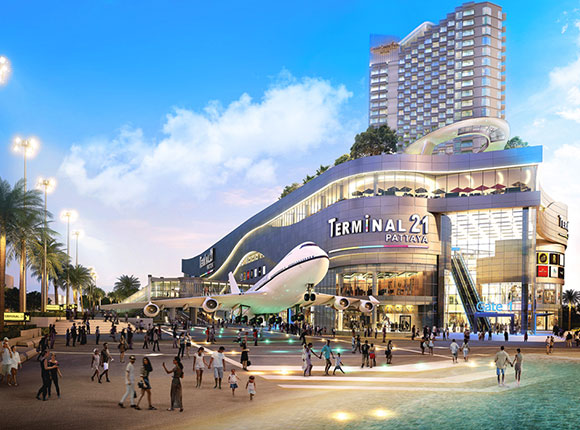 Top 4 Shopping Malls in Pattaya
