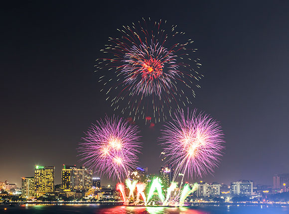 The Pattaya International Fireworks Festival