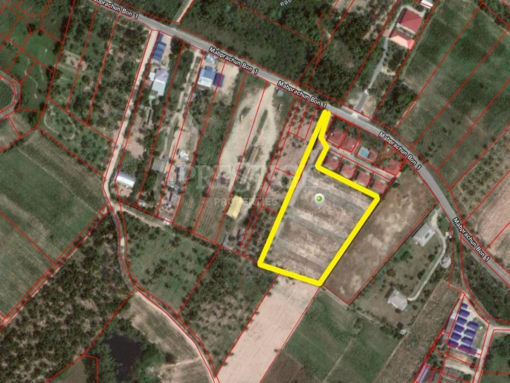 Land in East Pattaya for 16,950,000 THB PCL5082